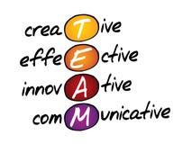 TEAM, bedrijfsconcept vector illustratie