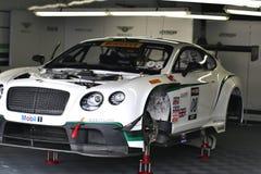 Team Bentley GT3 Imágenes de archivo libres de regalías