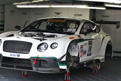Team Bentley GT3 Royalty Free Stock Images