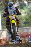 Team Birramen. 24 Hours of Resistance. International motorcycle Vall del Tenes. Barcelona, Spain. September 05, 2015 Royalty Free Stock Images