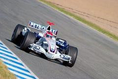 Team BMW-Sauber F1, Robert Kubica, 2006 Royalty Free Stock Photo