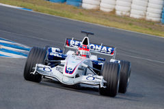 Team BMW-Sauber F1, Robert Kubica, 2006 Royalty Free Stock Photography