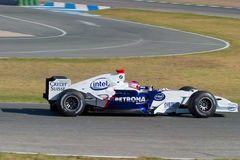 Team BMW-Sauber F1, Robert Kubica, 2006 Royalty Free Stock Photos