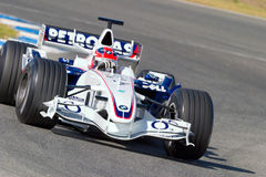 Team BMW-Sauber F1, Robert Kubica, 2006 Stock Images