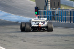 Team BMW-Sauber F1, Robert Kubica, 2006 Stock Image