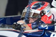 Team BMW-Sauber F1, Robert Kubica, 2006 Royalty Free Stock Images