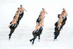 Team Boomerang performing Royalty Free Stock Photos