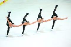 Team Boomerang-Pirouette Stockfotografie