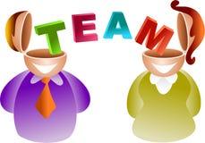 Team brain Royalty Free Stock Photography