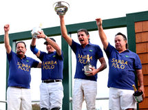 Team-Brasilien-Polo-Team Stockbild