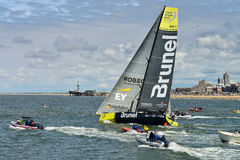 Team Brunel Arkivfoto