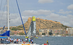 Team Brunel From Holland Arkivbild