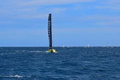 Team Brunel Volvo Ocean Race Alicante 2017 Royalty Free Stock Photography