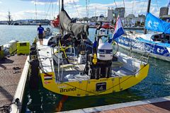 Team Brunel The Volvo Ocean Race 2017 Stock Images