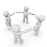 Team Building vector illustration