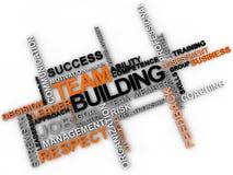 Team Building Fotografia Stock Libera da Diritti