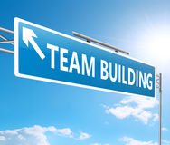 Team building concept. Royalty Free Stock Image