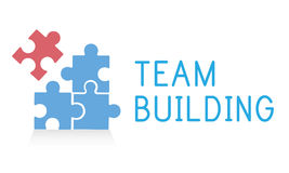 Team Building Group Work Concept Fotografie Stock Libere da Diritti