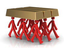 Team, Business concept. (high resolution 3D image) Royalty Free Stock Photos