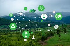 Free Team Business Energy Use, Sustainability Elements Energy Sources Sustainable Stock Images - 155564094