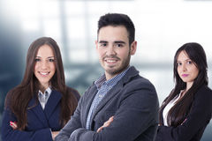 Team of business executives royalty free stock photography