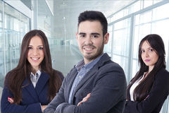 Team of business executives. Business, young team of business executives royalty free stock images
