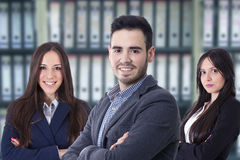 Team of business executives. Business, young team of business executives stock photos