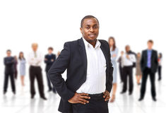 Team business man Royalty Free Stock Images