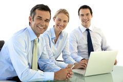 Team of business managers Royalty Free Stock Photo