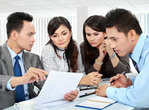 Team business meeting Royalty Free Stock Photo