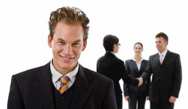 Team of business people Stock Photography