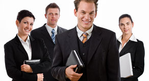 Team of business people Stock Image