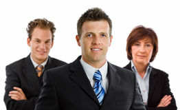 Team of business people Stock Images