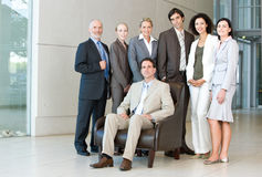 Team of business people Royalty Free Stock Image
