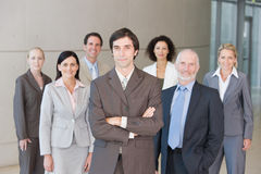 Team of business people Royalty Free Stock Photo