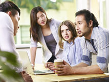 Team of business people meeting in office Royalty Free Stock Images