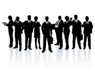 Team of business people stock illustration