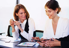 Team of business person works together Royalty Free Stock Photos