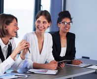 Team of business person works together Stock Photo