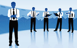 Team of businessmen Stock Photos