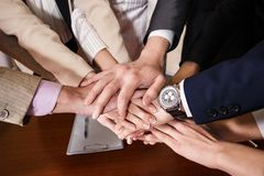 Team of businessmen Stock Image