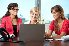 Team of businesswomen Stock Photography