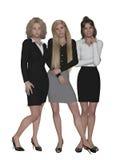 Team, businesswomen Stock Photo