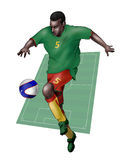 Team Cameroon Royalty Free Stock Photo