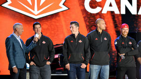 Team Canada royalty-vrije stock foto