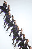 Team Canada One dance Stock Photography