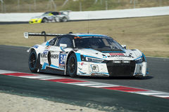 Team Car Collection Motorsport Audi R8 LMS 24 horas de Barcelona Fotos de archivo