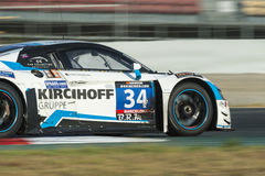Team Car Collection Motorsport Audi R8 LMS 24 ore di Barcellona Fotografia Stock