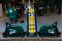 Team Catherham F1, Jarno Trulli, 2012 Lizenzfreie Stockfotos