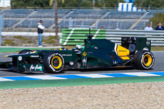 Team Catherham F1, Heikki Kovalainen, 2012 Stock Image